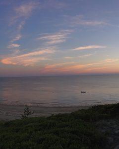 Smuggler's Beach at Sunset