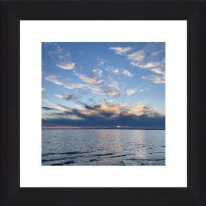 Truro Blue Sky Sunset