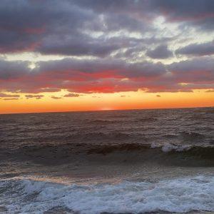 Truro winter sunset 2021